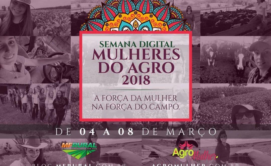 MF Rural e AgroMulher realizam Semana Digital Mulheres do Agro 2018