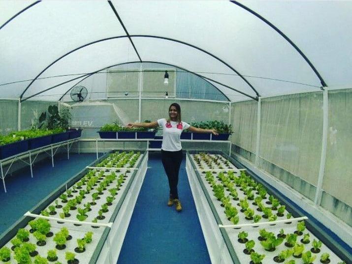Bruna Brandini: A Aquaponia como alternativa sustentável.