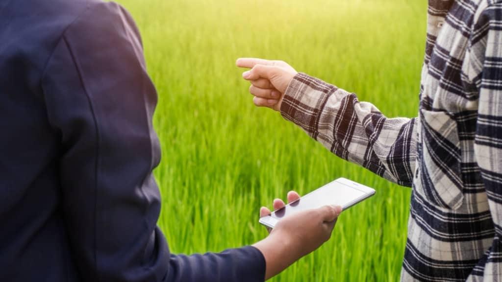 Aplicativos facilitam o trabalho de produtores rurais