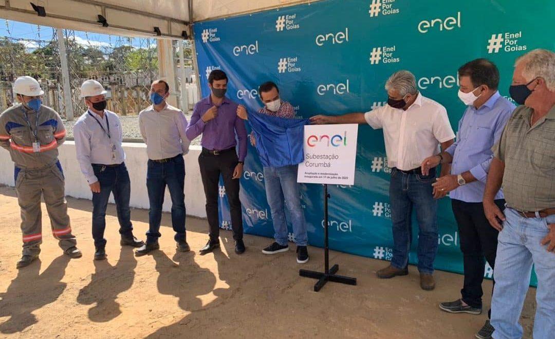 Enel Goiás beneficia milhares de clientes com ampliação da Subestação Corumbá