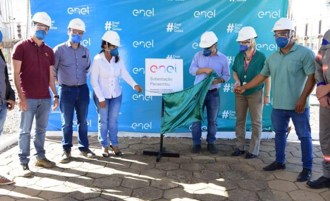 Ampliação da Subestação Pacaembu beneficia clientes de Valparaiso, Luziania e Novo Gama