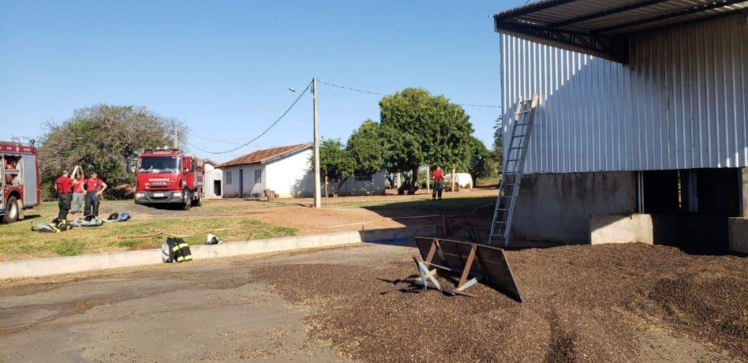 Bombeiros alertam: manutenção dos secadores de grãos evita incêndios
