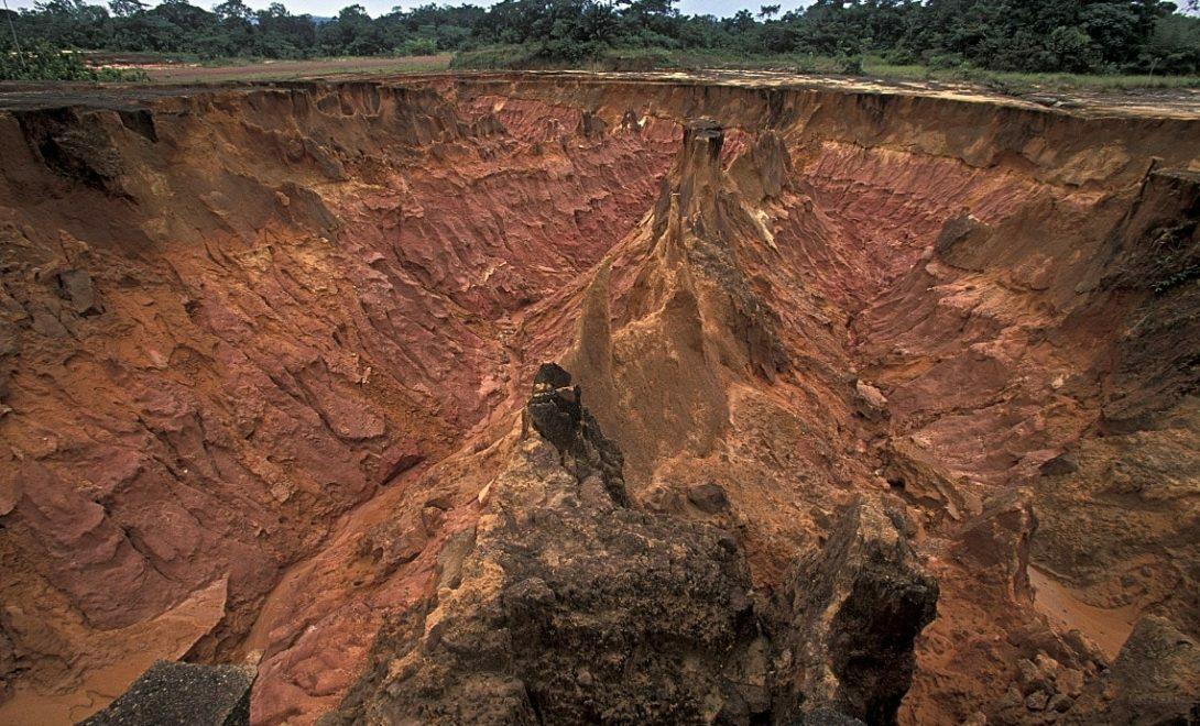 O que é erosão do solo e quais os tipos?