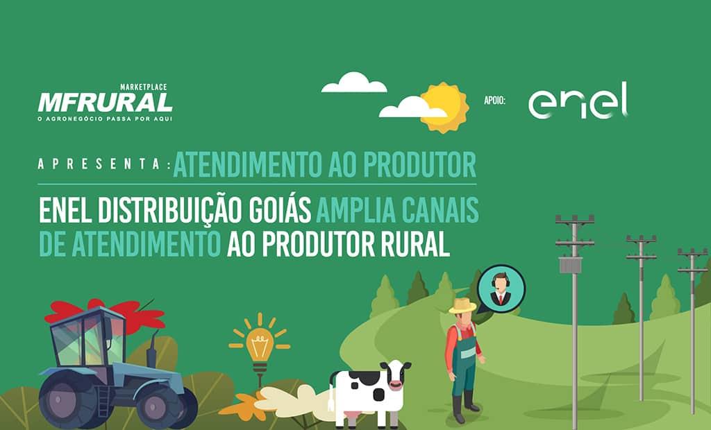 Enel Distribuição Goiás amplia canais de atendimento ao produtor rural