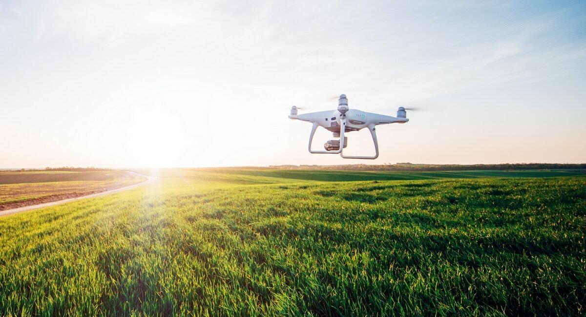Agricultura de precisão com uso de drone