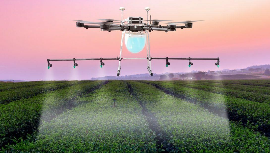 Como fazer uma pulverização com drones?