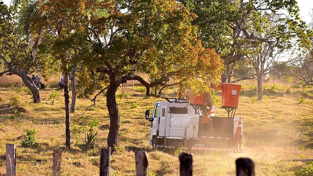 Atendimento da ENEL com melhorias zona rural