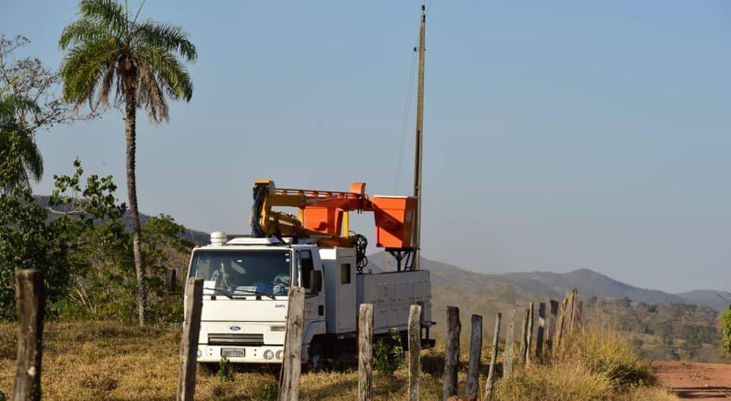 Enel melhorias na rede de energia na zona rural