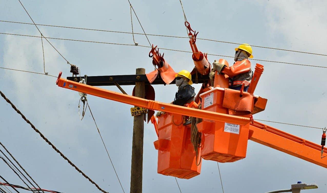 Redes de energia elétrica manutenção