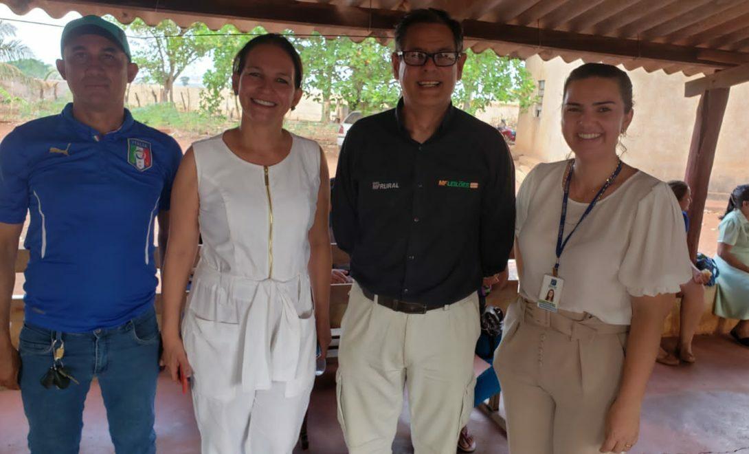 Evento reuniu produtores rurais e fornecedor de energia