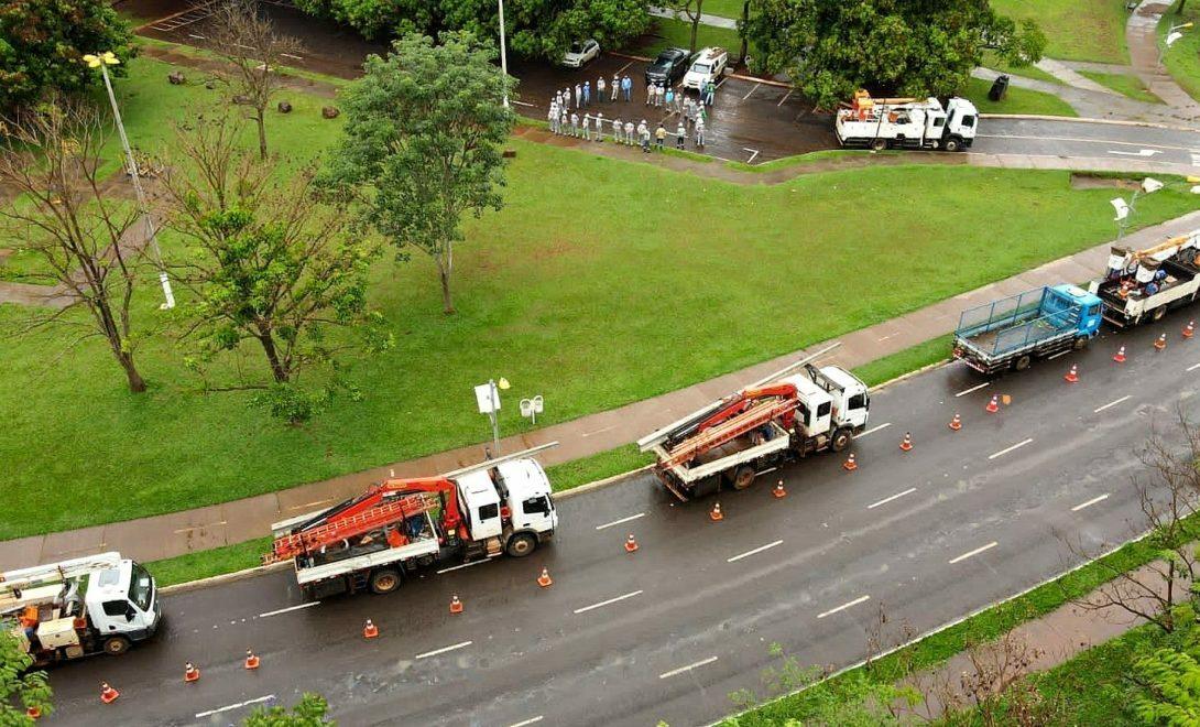 ENEL Distribuição Goiás realiza grande mutirão de manutenções na rede elétrica de Jataí
